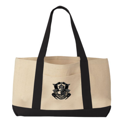 Canvas Boater Tote Thumbnail